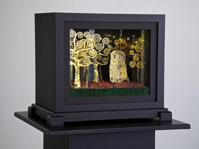 Artist: Margaret Ouchida T'ode to Klimt - 2014