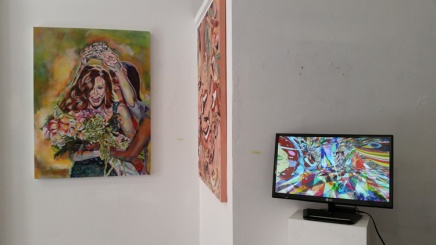 Daena Title and Kristine Schomaker Nature vs. Nurture at Red Pipe Gallery, Chinatown Los Angeles, California