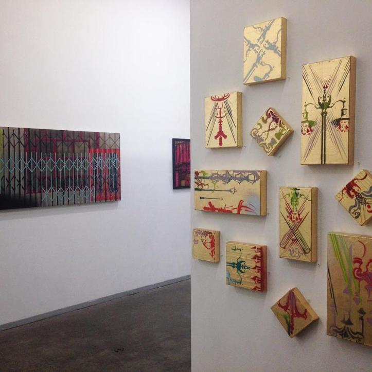 """Teale Hatheway @ George BIllis Gallery in Culver City """"THE CITYSCAPE SHOW V"""" through August 22, 2015"""