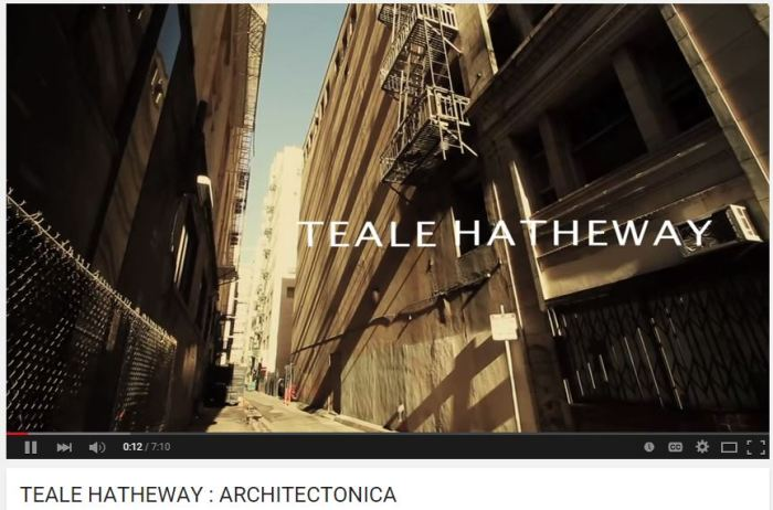 TEALE HATHEWAY : ARCHITECTONICA by Eric Minh Swenson