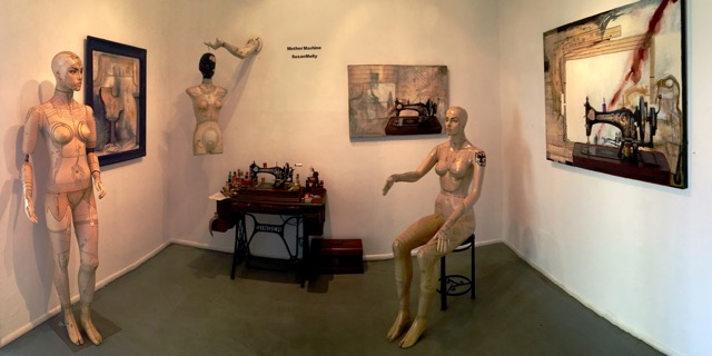 """Installation of """"Mother Machine"""" photo by Tony Pinto"""