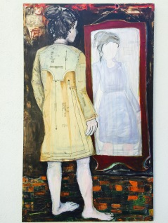 Susan Melly Girl in Mirror