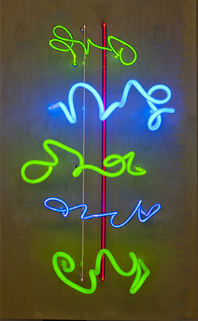 Price_LindaSue_Sweet and Sour AKS Don't Suffer for A--holes_neon_37x22.5x15