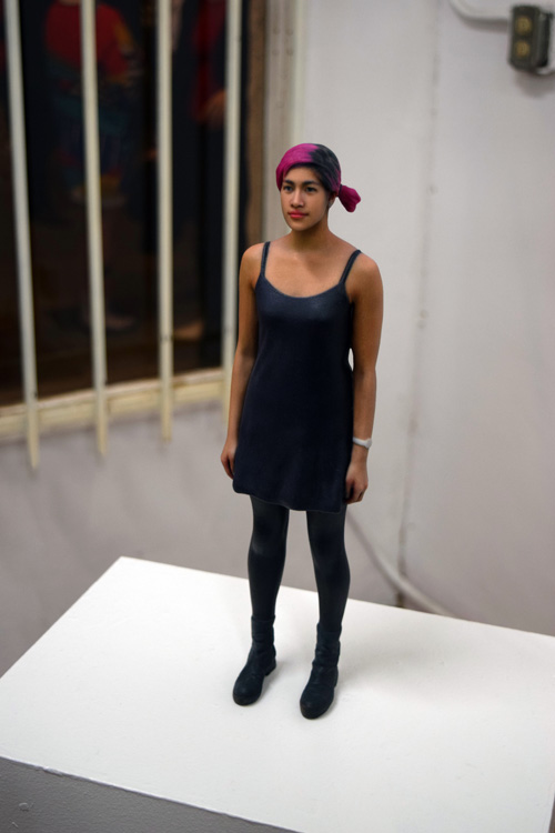 "Emma Sulkowicz: ""Self-Portrait"": Solo Exhibit & Artist Performance Coagula Curatorial"