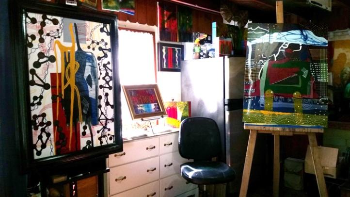 Studio visit with Francisco Alvarado