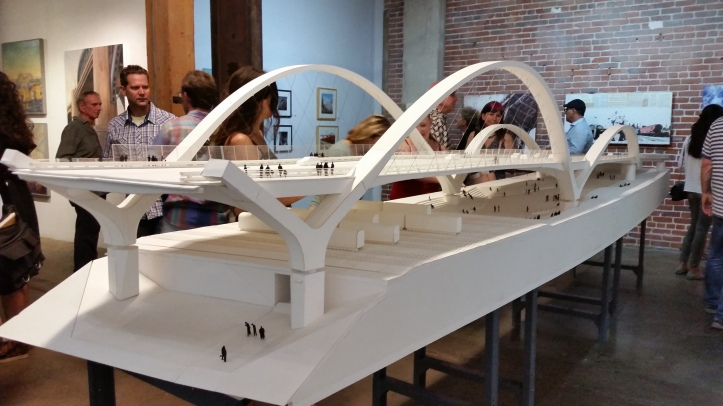 """Ode to the Bridge"" Artshare LA"