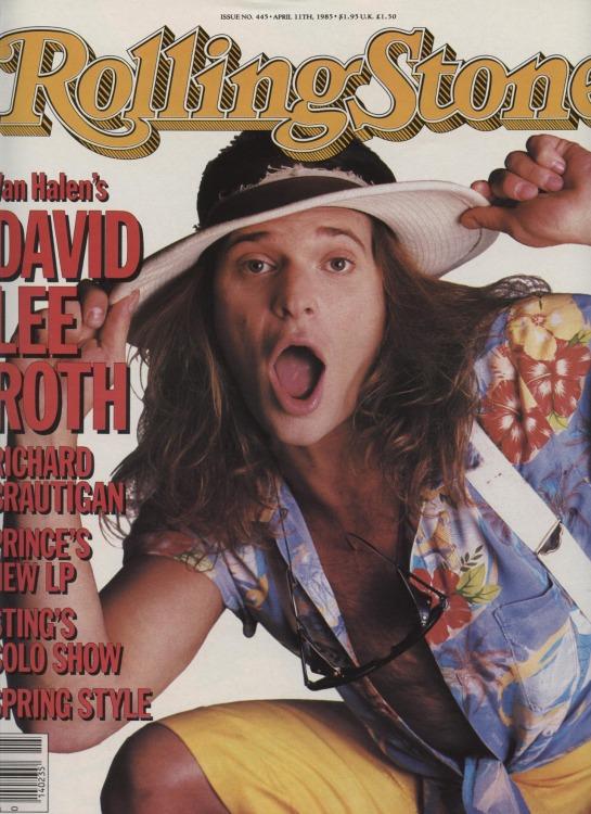 David Lee Roth by Brad Branson
