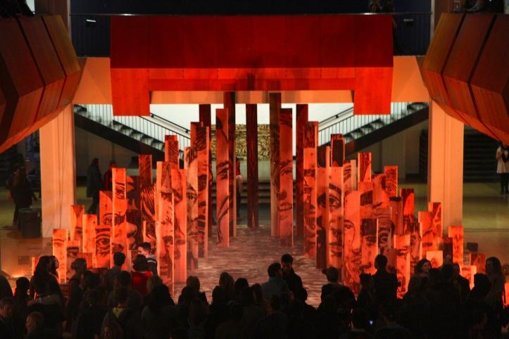 Zachary Aronson, The Way, theatrical installation