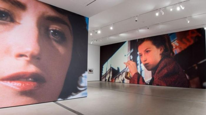 Cindy Sherman at the Broad. Photo courteousy of the LA Times
