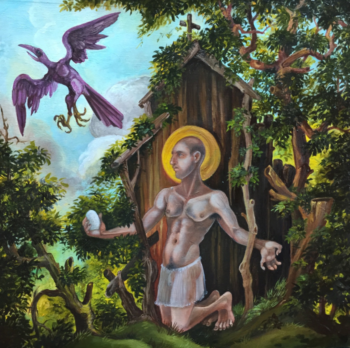 St. Kevin and the Blackbird