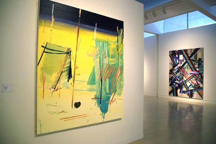"""Grafforists"" at the Torrance Art Museum (photo credit: Kristine Schomaker)"