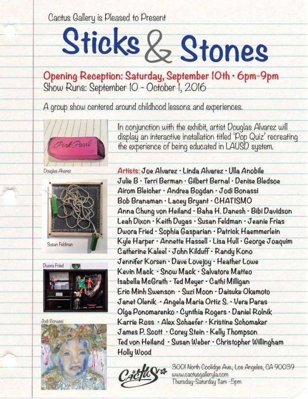 Cactus Gallery, Sticks & Stones