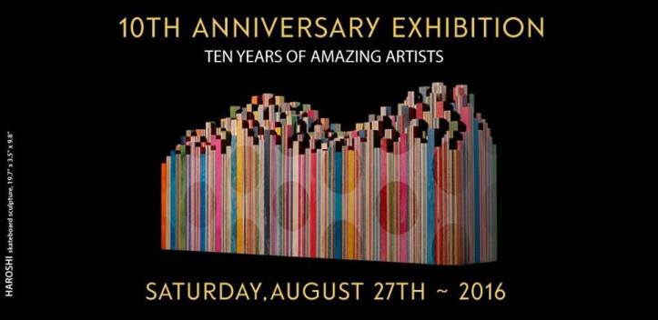 Corey Helford Gallery 10 Year Anniversary Exhibition & Celebration