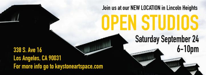 Keystone Art Space, FALL 2016 Open Studios