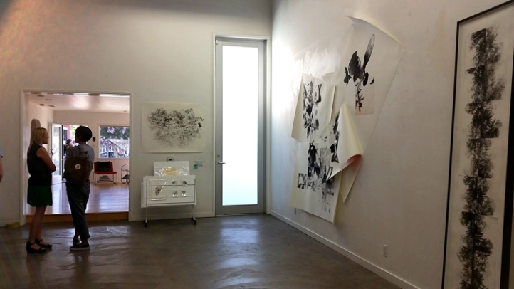 SJM Fine Art featured works by artist Stacie Jaye Meyer. (Photo credit Patrick Quinn)