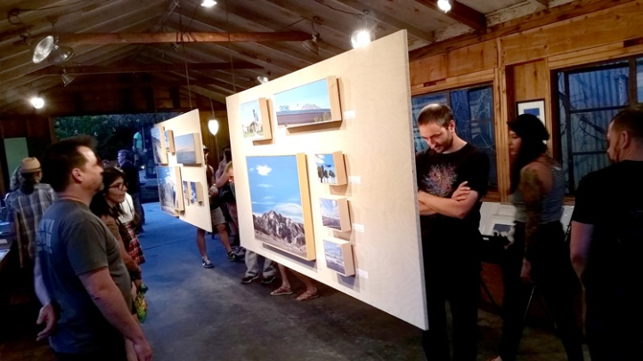 RAC Design Build showed a variety of artists including Mary-Austin Klein. (Photo credit Patrick Quinn)