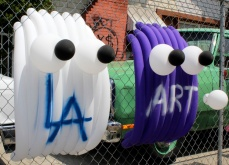 LA ART, Balloonski ©2016 Hidden Hi Fi, Gabba Gallery, Photo credit- JulieFaith, All rights reserved