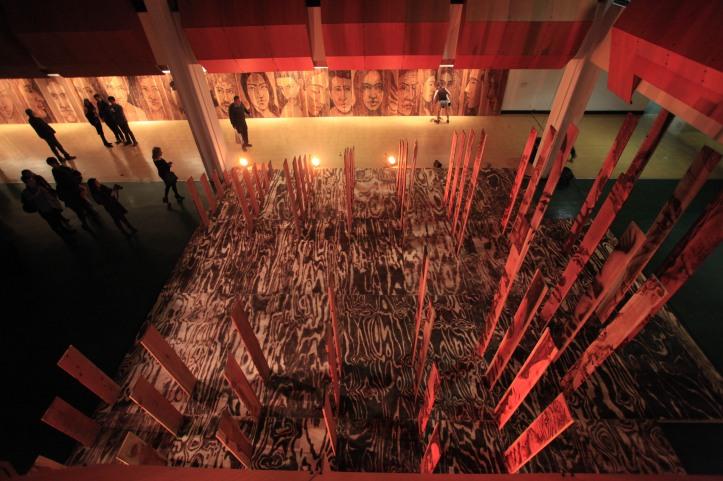 Zachary Aronson, A Forest Dark Floor, Photo courtesy of the artist