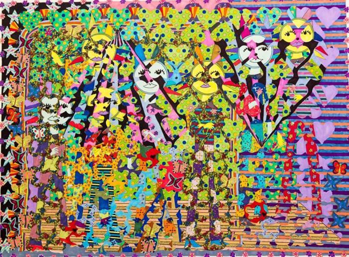 """Raven Servellon - """"Velvet Sunflower"""" at Coagula Curatorial"""