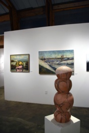 Dean Styers, Michelle Robinson and Michele Ogilvie, Keystone Art Space Open Studios Group Show, Photo Credit Kristine Schomaker