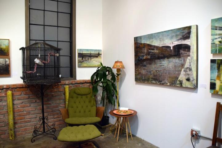 Michelle Robinson, Keystone Art Space, Photo Credit Kristine Schomaker