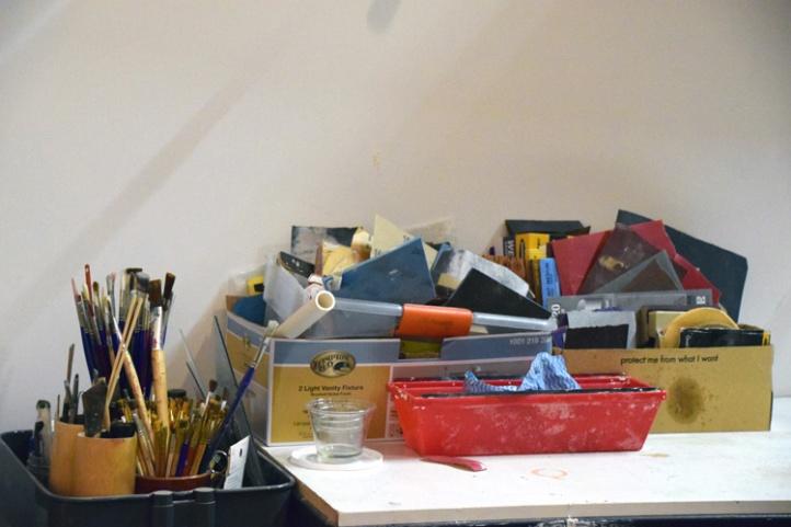 Michele Ogilvie, Keystone Art Space, Photo Credit Kristine Schomaker