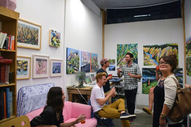 Jen Dunlap, Keystone Art Space, Photo Credit Kristine Schomaker