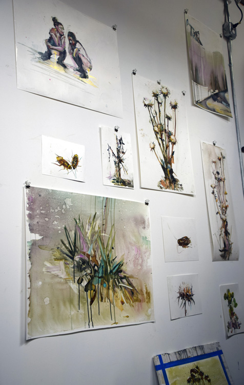 Molly Segal, Keystone Art Space, Photo Credit Kristine Schomaker
