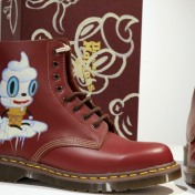 CREAMY DR. MARTENS, Gary Baseman©2016 10 years of CHG Gallery, Photo credit- JulieFaith, All rights reserved