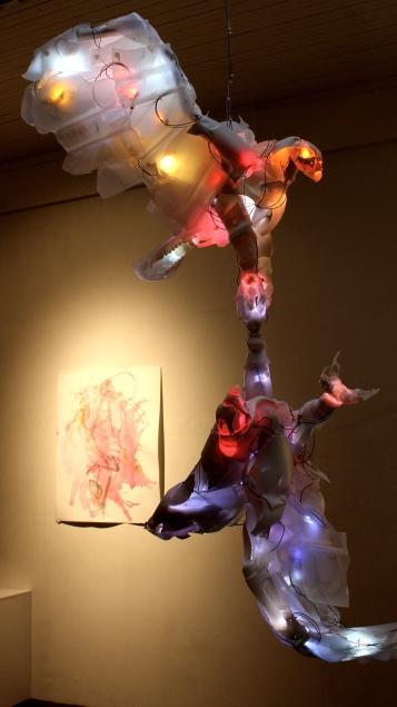 Cynthia Minet, Post Waste at South Bay Contemporary, (Photo credit Tracey Weiss)
