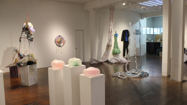 Post Waste at Southbay Contemporary, (Photo credit Tracey Weiss)