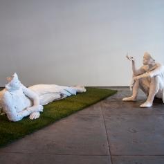 Installation, Karon Davis, Pain Management at Wilding Cran. Photo Courtesy Wilding Cran