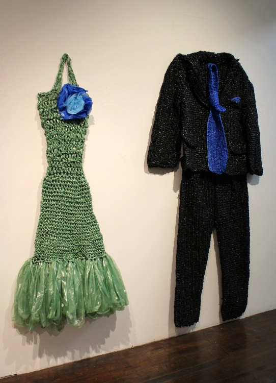 Lena Wolek, Post Waste at Southbay Contemporary, (Photo credit Tracey Weiss)