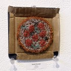 Linda Naranjo, Pizza ©2016 The Coaster Show, LLDJ Gallery, Photo credit- JulieFaith, All rights reserved