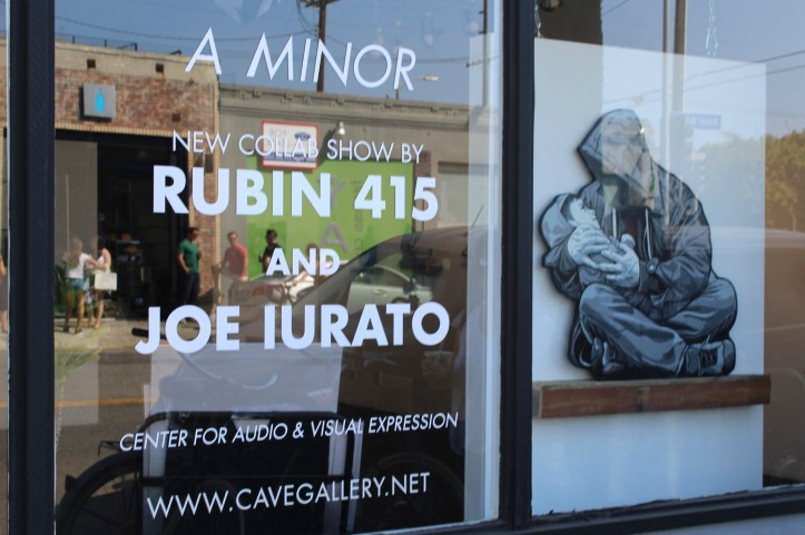 Rubin415 and Joe Iurato ©2016 A Minor, C.A.V.E Gallery, Photo credit- JulieFaith, All rights reserved.