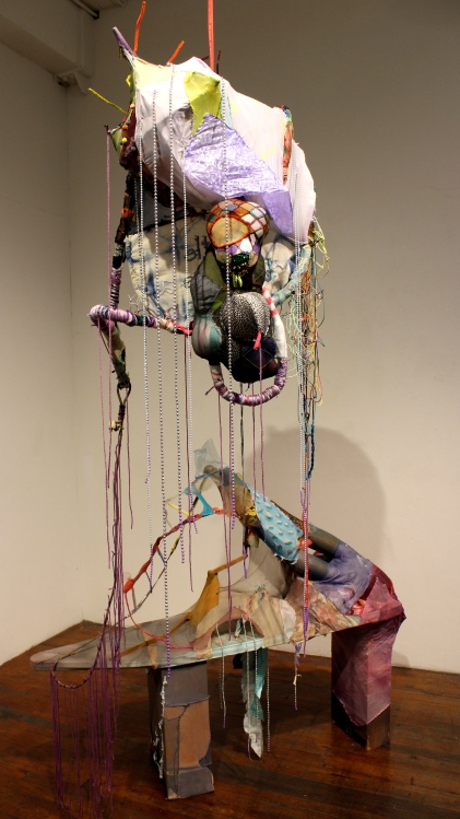 Tina Linville, Post Waste at South Bay Contemporary, (Photo credit Tracey Weiss)