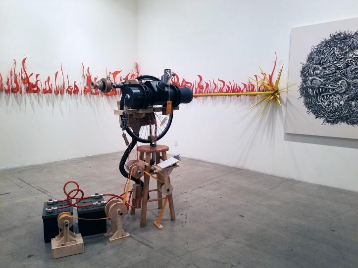 New works by Kiel Johnson and Mark Dean Veca at JAUS