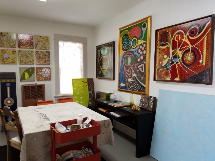 Sonny Lipps' Studio. 24th Annual Arroyo Arts Collective Discovery Tour
