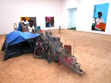 Blum & Poe Gallery Installation view - Photo Credit: Patrick Quinn