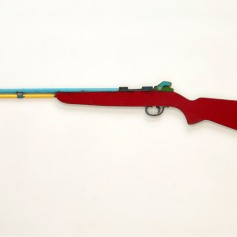 David Buckingham. Chris Burden Rifle. Photo courtesy Loft at Liz's