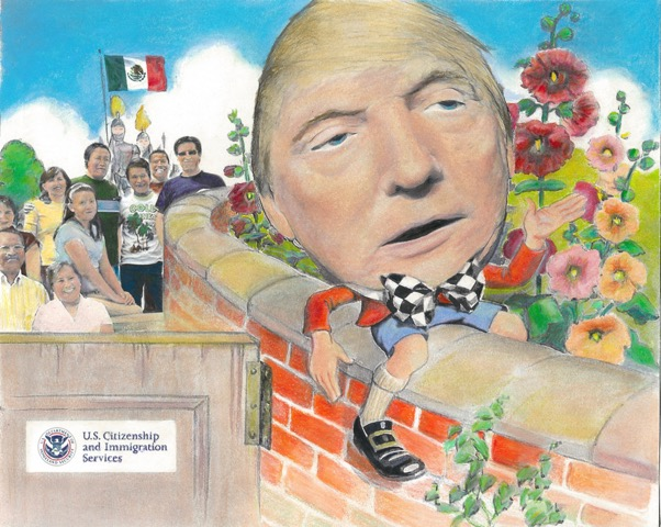 """Humpty Trumpty Sat on the Wall"""