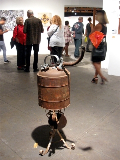 George Herms, Pipe Dreams. Orange County Center for Contemporary Art. Photo Credit: Patrick Quinn