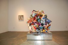 Tm Gratkowski. Paper Delirium. Walter Maciel Gallery. Photo courtesy Walter Maciel Gallery