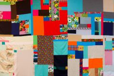 Jen Smith, Mother Cloth, detail (week 1). Courtesy the artist and Commonwealth and Council. Photo Ruben Diaz.