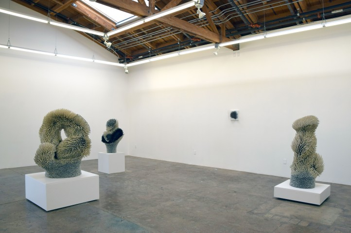 Artwork by Zemer Peled at Mark Moore Gallery - Photo Credit Kristine Schomaker