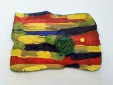 Artwork by Polly Apfelbaum - Photo by Lorraine Heitzman at Ben Maltz Gallery.