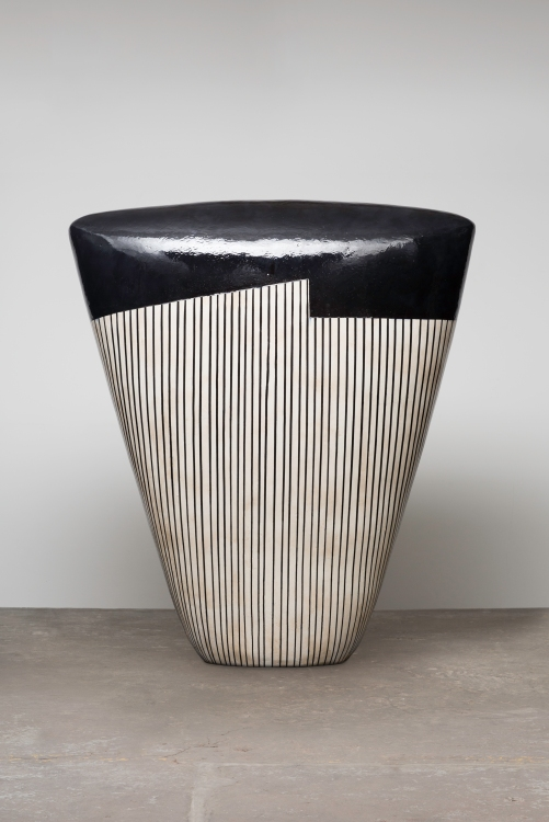 "Jun Kaneko's ""Untitled, Dango"" - Photo Courtesy Edward Cella Gallery"