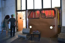 Surreal Box Cinema. Brewery Artwalk 2016