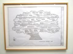 Artwork by Mark Bennett Titled 'The Celebrity Tree' Photo Credit: Patrick Quinn
