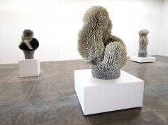 Work by Zemer Peled at Mark Moore Gallery, Titled: 'Under the Arch' Photo Credit: Patrick Quinn
